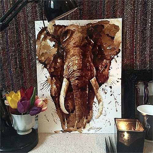 Chú voi đến từ châu Phi