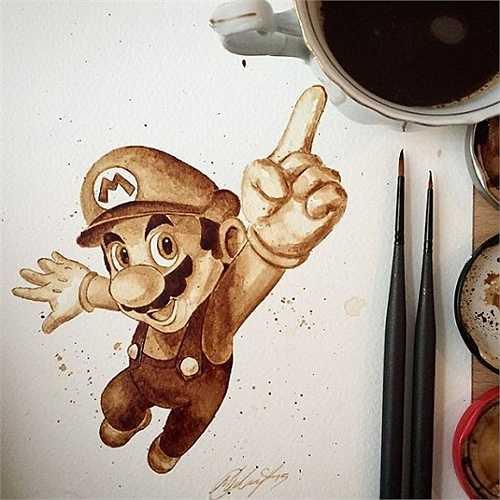 Nhân vật game đình đám Mario