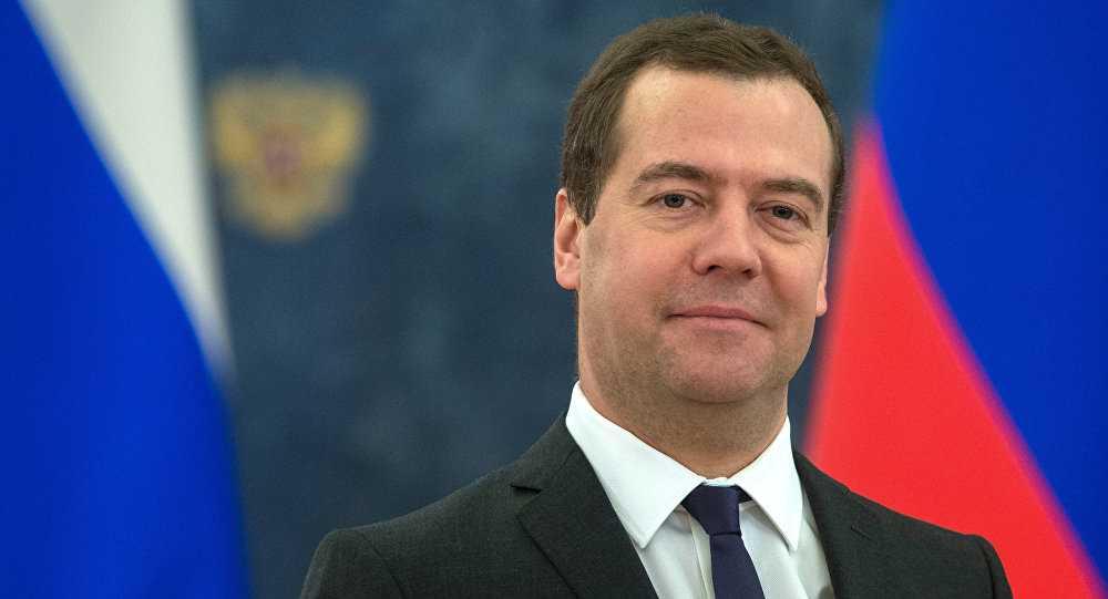 Thủ tướng Nga Medvedev