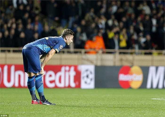 Nỗi buồn của Giroud