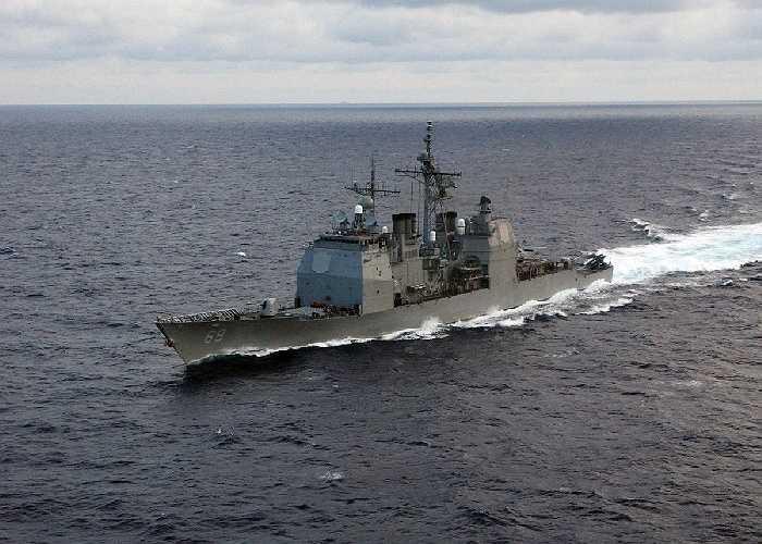 Tàu tuần dương tên lửa dẫn đường lớp Ticonderoga tự hào ra mắt hệ thống Mark 41 Vertical Harpoon, tên lửa chống hạm và súng nhẹ Mk45