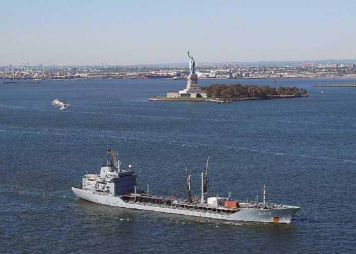 NATO được hỗ trợ tuần dương hạm FGS Spessart của Đức
