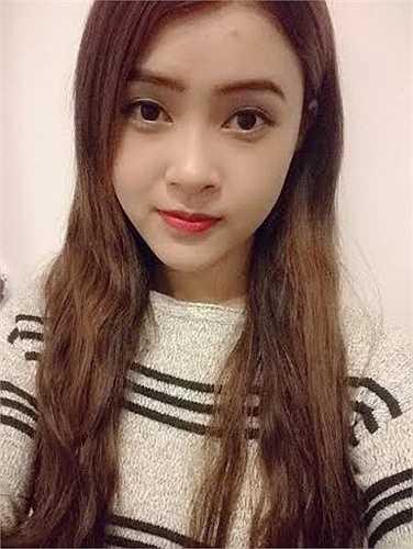 Cô bạn xinh đẹp này là Quach Bé Thảo (1995), đến từ Bạc Liêu.