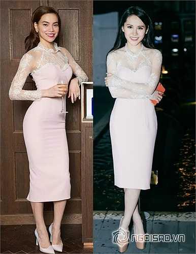 Chiếc váy tuyệt đẹp của NTK Lý Quí Khánh dành cho Hà Hồ mặc trong dịp đi gặp David Beckham đã được hot girl Vân Shi mặc lại với vẻ quyến rũ không hề kém cạnh