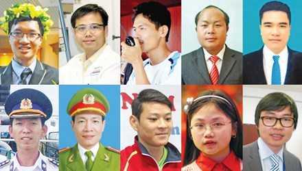 10 gương mặt trẻ Việt Nam tiêu biểu năm 2014