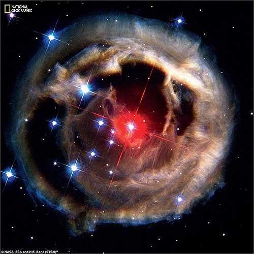 Năm 2002, một chòm sao đột nhiên sáng hơn gấp 600.000 lần so với mặt trời. Chòm sao bí ẩn này được đặt tên là V838 Monocerotis nhưng cũng chỉ sau lần đó, nó lại dần mờ đi và dần không phát sáng nữa.