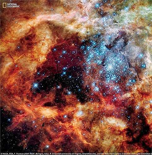 Chòm sao này rất lớn, thuộc nhóm sao trẻ gọi là R136, chỉ vài triệu năm tuổi, nằm trong khu vực hình thành sao không theo quy tắc của Large Magellanic Cloud, một thiên hà vệ tinh của dải Ngân hà
