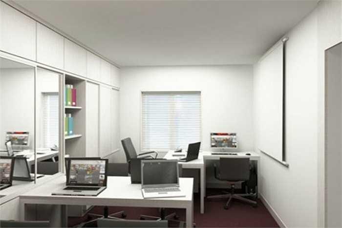 Có một số nơi diện tích phòng làm việc hơi nhỏ vì thế bàn làm việc sẽ bị kê sát và quay mặt vào tường. Cách kê này về phong thủy sẽ ảnh hưởng đến tiền đồ của bạn. Những người ngồi ở vị trí này thường sẽ ít có cơ hội để phát triển