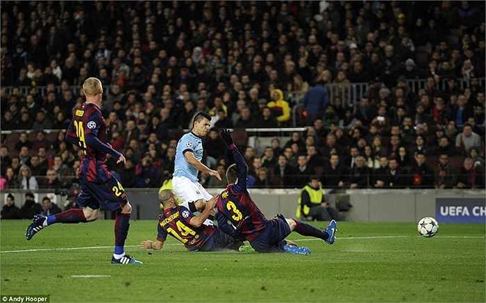 Ở cơ dưới nhưng Man City vẫn chiến đấu ngoan cường đến tận phút cuối