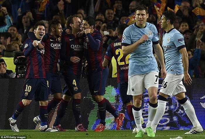 Man City buộc phải ghi ít nhất 2 bàn nếu như muốn kéo dài cuộc chơi