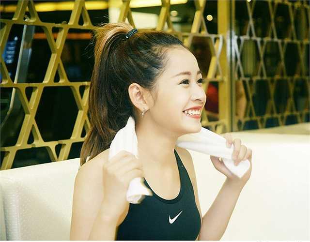 Sự tự tin, chăm chỉ đã làm nên sự thành công của cô hot girl xinh đẹp Hà thành. Nguồn: Dân Việt