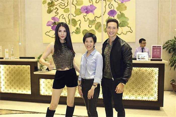 Trang phục trình diễn của Trương Ngọc Ánh tại Hương Ga DJ Party Đà Nẵng vô cùng gợi cảm, thanh tân.
