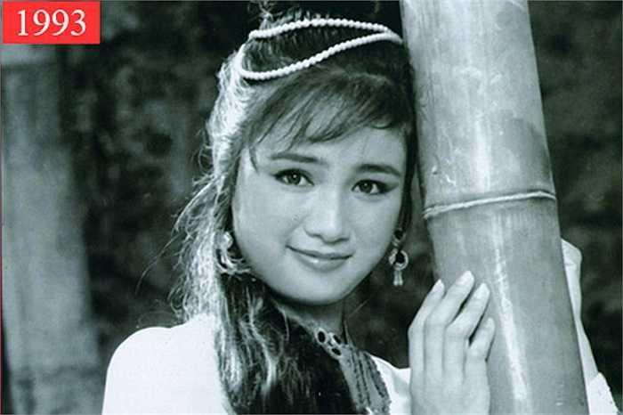 Nữ diễn viên Thu Hà là một trong những nhan sắc làm say đắm lòng người của điện ảnh Việt Nam những năm 90.