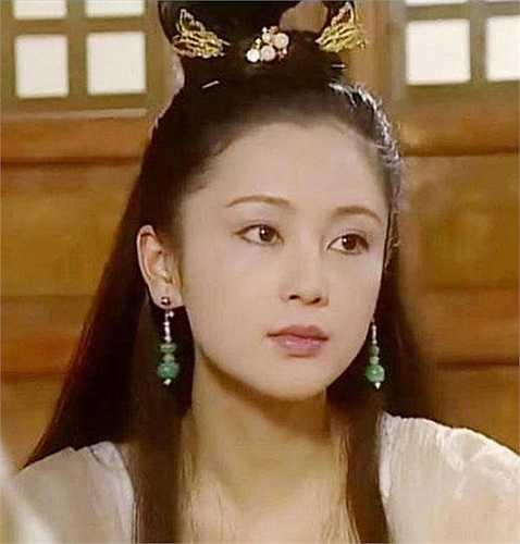 Hằng Nga (Trần Hồng) đẹp hút hồn trong bộ phim truyền hình Xuân quang xán lạn Trư Bát Giới. (Nguồn: Vietnamnet)