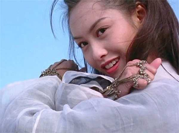 Vẻ đẹp tươi sáng của Chu Ân khi hóa thân thành Tử Hà tiên tử trong Đại thoại tây du.