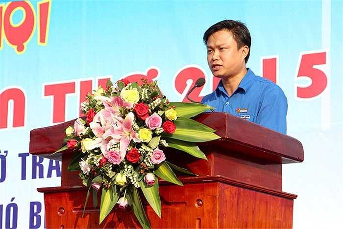 Anh Huỳnh Thái Nguyên, Chủ tịch Hội Liên hiệp thanh niên Việt Nam thành phố – Phó Bí thư Thành Đoàn Cần Thơ kêu gọi thanh niên tiết kiệm năng lượng