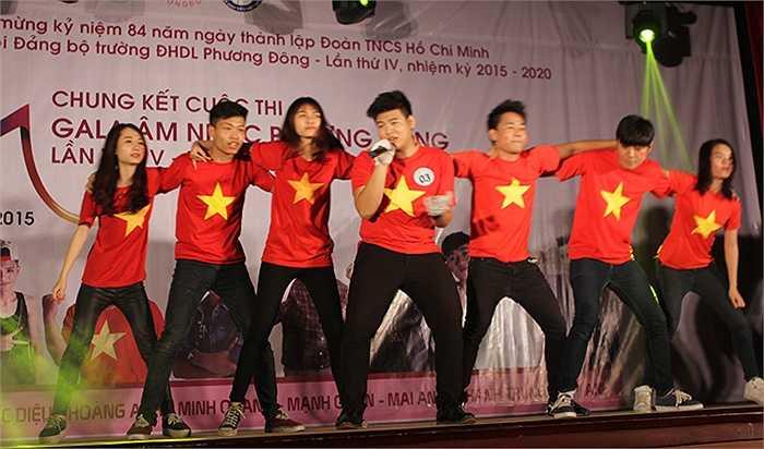 Các tiết mục trong đêm chung kết được đầu tư công phu về vũ điệu và giọng hát