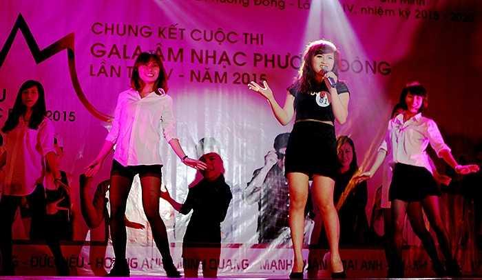 Lê Thu An thể hiện giọng hát ngọt ngào, trong trẻo với ca khúc ' Là em đó'