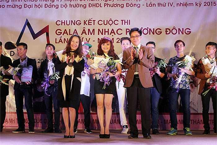 Giải Nhất của cuộc thi thuộc về cô gái Lê Thị Thu An với màn trình diễn ca khúc 'Là em đó'