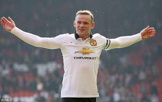 Thủ quân Man Utd lẫn Tam sư - Wayne Rooney lĩnh 16,5 triệu Bảng/năm, đứng thứ 7 trong danh sách.