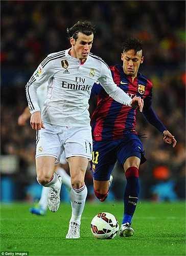 Đứng ngay sau Van Persie là Gareth Bale, với 17,5 triệu Bảng/năm.