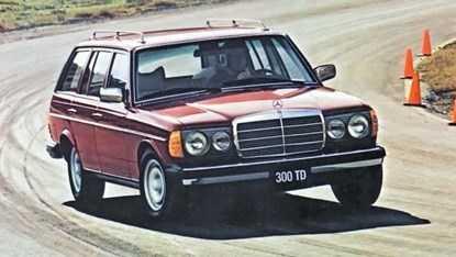 Mercedes-Benz 300TD Wagon (W123)