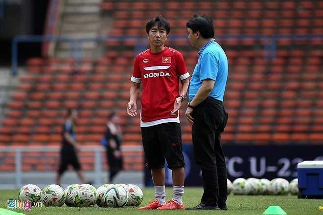 Do đó HLV Miura cảm thấy khá áp lực. Nhưng ông và các học trò đã dồn quyết tâm cho trận đấu này
