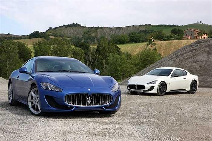 7. Maserati GranTurismo    Mặc dù GranTurismo đã được tung ra thị trưởng gần 10 năm nay nhưng những đường nét thanh lịch của chiếc xe vẫn trụ vững qua thời gian.