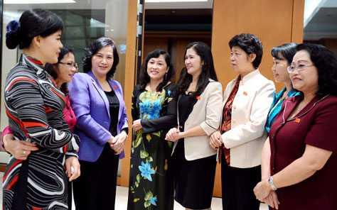 Các nữ đại biểu Quốc hội Việt Nam