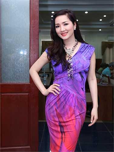 Giáng Mi là một trong những 'mỹ nhân không tuổi' nổi bật nhất showbiz Việt.