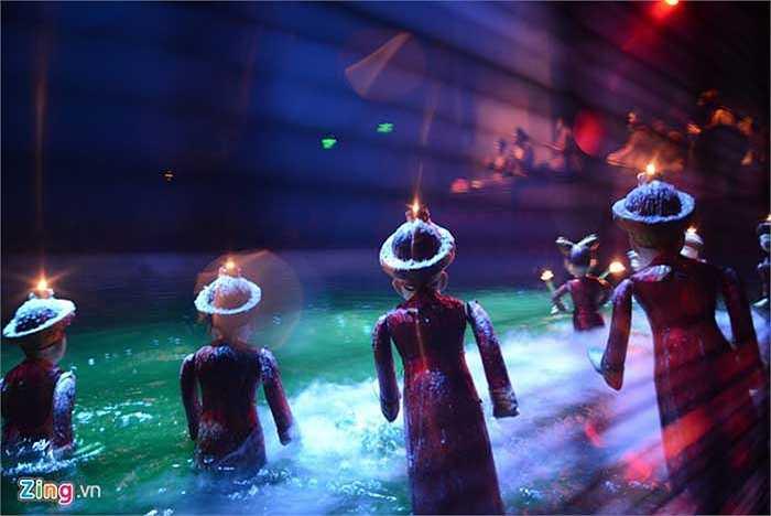 Không chỉ phục vụ khán giả trong nước và khách du lịch, nhiều năm qua đoàn đã đi biểu diễn và tham gia các liên hoan nghệ thuật quốc tế ở hơn 20 quốc gia trên thế giới.