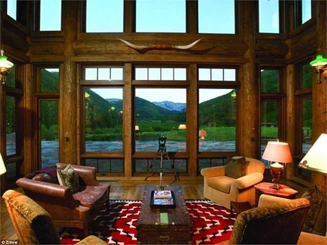 Căn nhà tuyệt vời đang được Bill Koch rao bán với mức giá ngót nghét 100 triệu USD