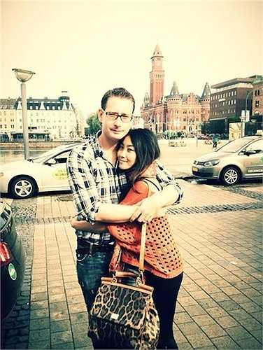 Hai vợ chồng cũng thường xuyên đi du lịch.