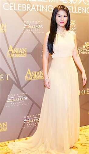 Song hành với Mr. Đàm ở sự kiện này là nữ diễn viên Ngọc Thanh Tâm.