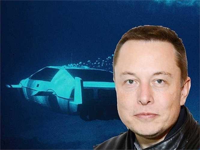 1. Elon Musk: Người sáng lập Tesla Motors rất thích sưu tầm kỷ vật của James Bond. Ông đã bỏ ra gần 1 triệu USD để mua chiếc chiếc xe hơi-tàu ngầm Lotus Esprit từng xuất hiện trong bộ phim The Spy Who Loved Me về Điệp Viên 007 từ năm 1977.