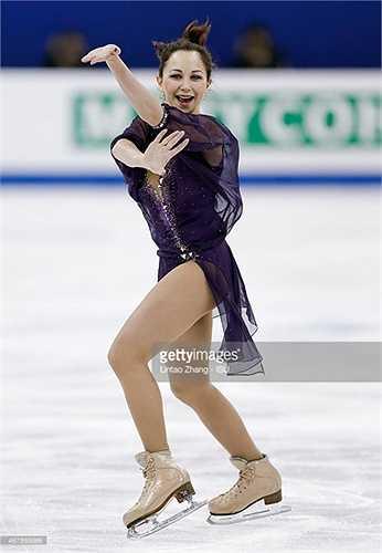 Tấm huy chương vàng mà Elizaveta vừa giành được là ghi nhận cho những nỗ lực không biết mệt mỏi của người đẹp 18 tuổi xứ Bạch Dương.