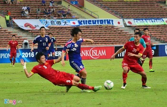 Sự lăn xả của các hậu vệ giúp U23 Việt Nam bảo toàn mành lưới sau 40 phút