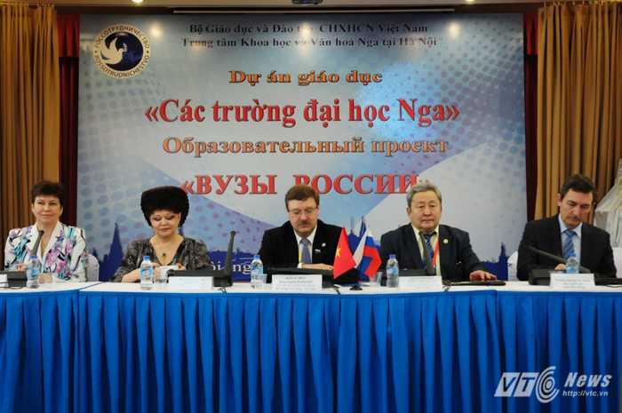 Đại diện các trường Đại học Nga tham gia giai đoạn 3 của dự án Các trường Đại học Nga