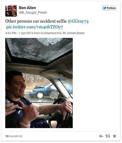 Rõ ràng không phải xe của anh ta gặp tai nạn