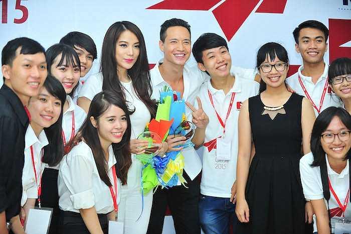 Trương Ngọc Ánh cũng đang chuẩn bị sản xuất một TV show mang tên mình, nhằm vào việc chia sẻ phong cách sống và sức khỏe dành cho phụ nữ.  (Trung Ngạn)