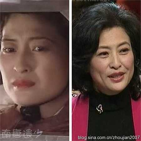 Nhân vật Cam Phu nhân, mẹ Lưu Bị do diễn viên Hứa Đệ đóng.