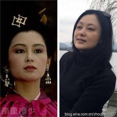 Trần Hồng trong vai Điêu Thuyền. Thời gian đã khiến nhan sắc của cô phai nhạt, vóc dáng cũng thay đổi rất nhiều. (Nguồn: Ngôi sao)