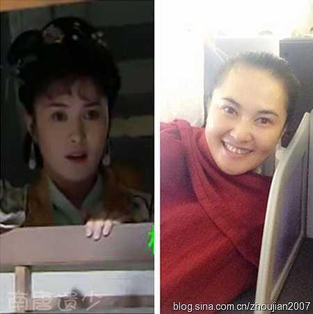 Vợ của Lâm Xung do Vương Tinh Hoa đóng. Năm tháng khiến cô béo lên khá nhiều.