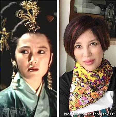 Nhân vật vợ Lã Bố do Cao Bảo Bảo đóng. Khuôn mặt cô đã trở nên khác lạ rất nhiều so với những năm khi đóng 'Tam Quốc'.
