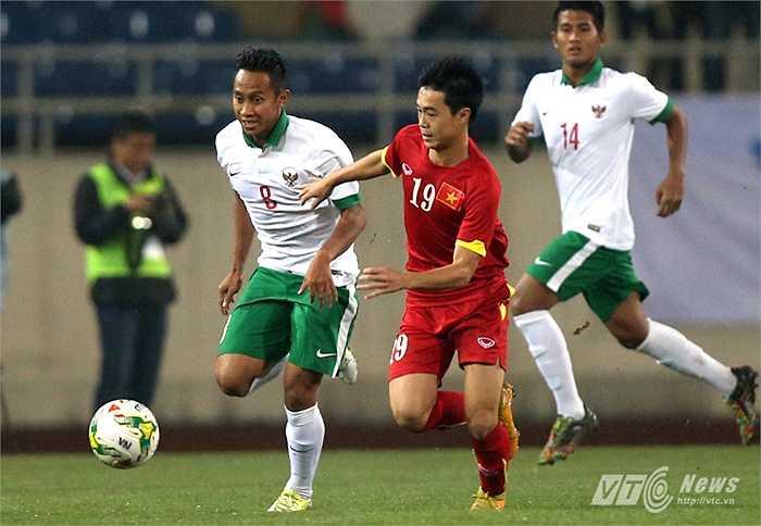 10. Tiền đạo Văn Toàn. Văn Toàn sẽ là mũi nhọn trên hàng công U23 Việt Nam. Anh sẽ chơi chếch sang cánh phải.