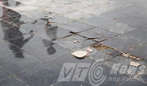 Tượng đài Mẹ VNAH, Quảng Nam, lớn nhất Việt Nam, sự cố, nứt lún