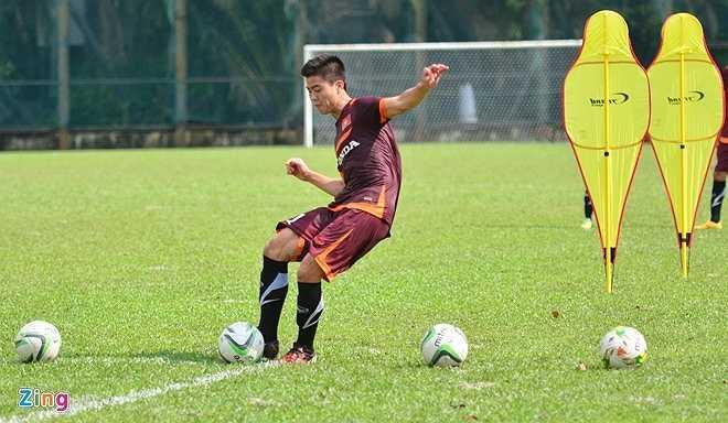 Duy Mạnh cũng đã được tính đến trong thế trận đá tấn công của U23 Việt Nam
