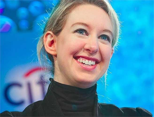 2. Elizabeth Holmes (tài sản: 4,5 tỷ USD) là nữ tỷ phú tự lập trẻ nhất. Doanh nhân 31 tuổi này là người sáng lập công ty công nghệ y tế về kiểm thử sinh phẩm và máu Theranos. Công ty này hiện đang có giá trị khoảng 9 tỷ USD.