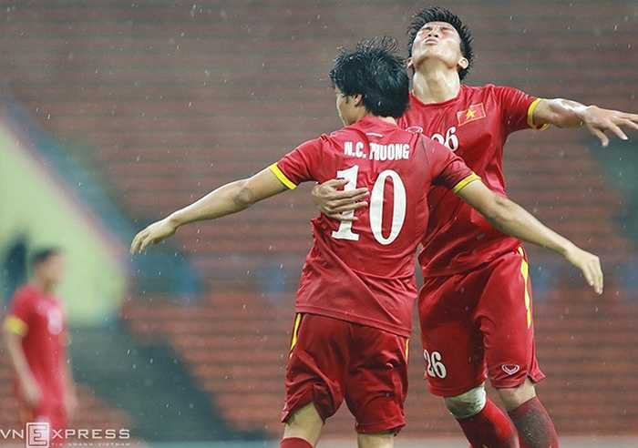 Niềm vui của U23 Việt Nam