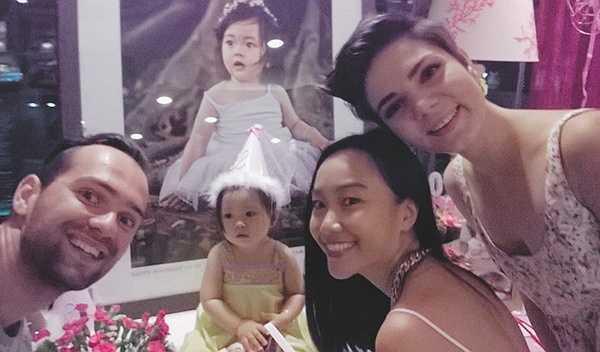 Hai vũ công của cuộc thi Bước nhảy Hoàn vũ là Daniel (bạn nhảy của Lan Ngọc) và Anna (bạn nhảy của Vương Khang) tới mừng sinh nhật bé Sol.
